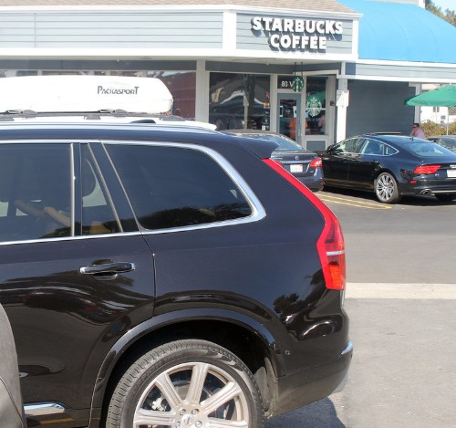 We drove Volvo's most advanced luxury SUV from Los Angeles to San Francisco on one tank of gas