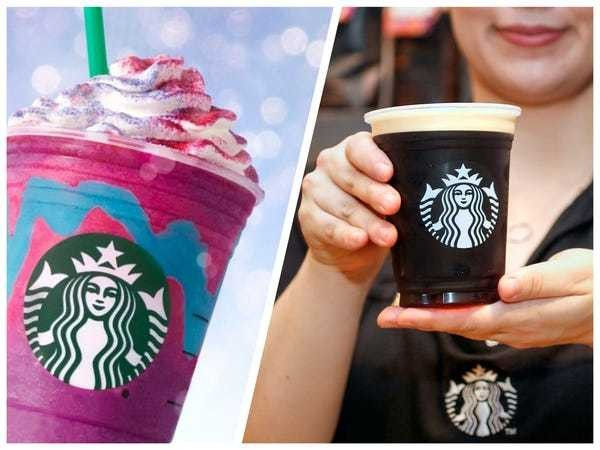 How Starbucks drinks have changed over the last 10 years - Business Insider