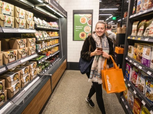 Amazon Go stores are now accepting returns on purchase made online