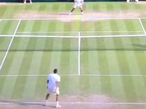 Tennis Player Hits The Shot Of The Year With An Insane Between-The-Legs Winner