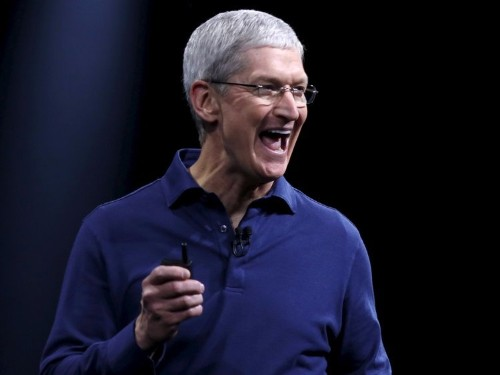 Apple CEO Tim Cook: 'I don't even look at what the analysts say'