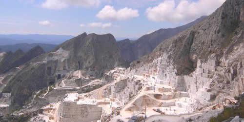 Inside Italy's $1 billion mountains that produce more tons of marble than anywhere else on Earth