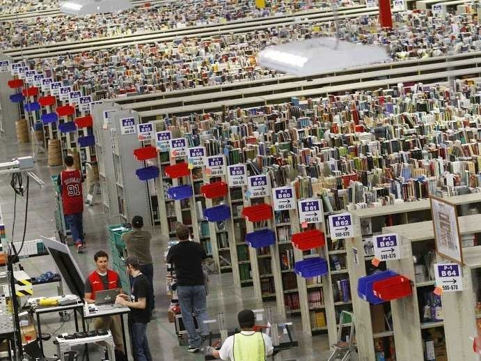 The Massive Scale Of Amazon's Distribution Operations Is Mesmerizing