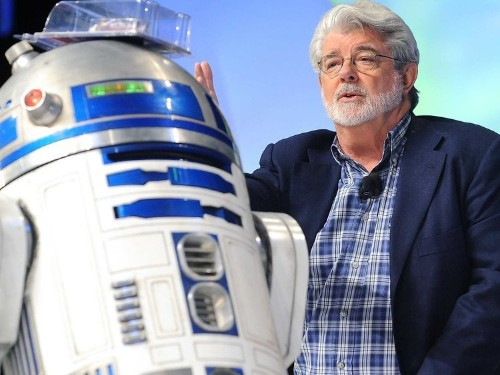 George Lucas compares seeing 'The Force Awakens' to attending an 'awkward' wedding