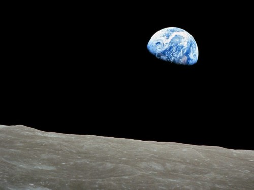 Apollo astronaut Jim Lovell, who saw Earth rise over the moon 50 years ago, says 'you go to heaven when you are born'