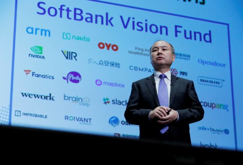 Backers of the Vision Fund consider reducing stakes in second one