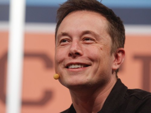 Elon Musk shared a video of Tesla's new self-driving car system in action