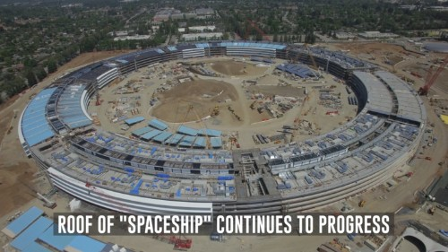 Apple's $5 billion 'Campus 2' is really starting to take shape