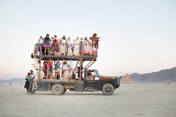 The most extraordinary and bizarre photos from the past decade of Burning Man