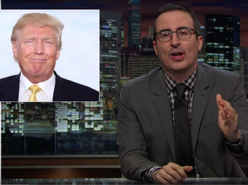 John Oliver dedicated his entire show this week to decimating Donald Trump
