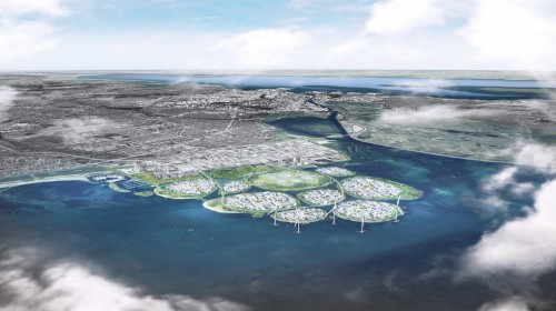 Copenhagen wants to build 9 artificial islands to house 'the European Silicon Valley.' Take a look at the plan.