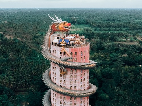 A photographer's drone pictures show some of Asia's most eye-catching temples from above - Business Insider
