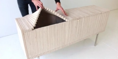 An artist has completely re-envisioned the most mundane piece of furniture
