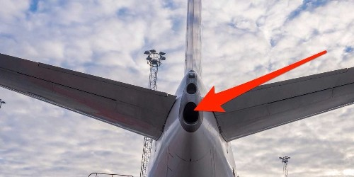 Airplanes have a secret engine hidden in the tail