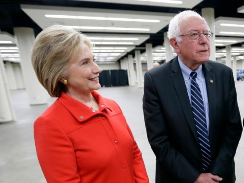 Bernie Sanders: 'I disagree with Hillary Clinton on virtually everything'