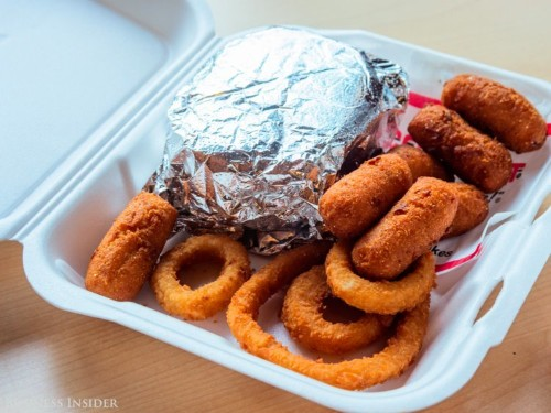 Cook Out burger and milkshake restaurant review