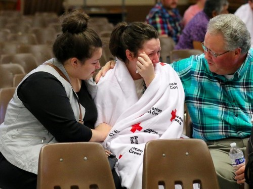 Oregon college shooting survivor says gunman spared a 'lucky one' to give the police a message