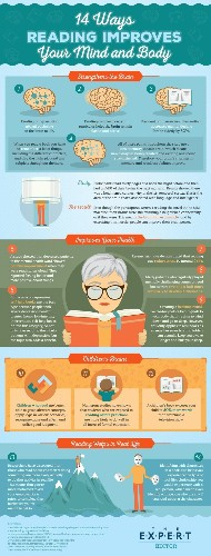 14 reasons why reading is good for your health