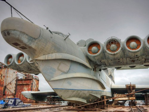 The Soviets Had Big Plans For This Enormous Nuclear-Equipped Ekranoplane