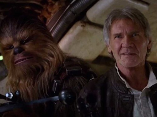New Star Wars Force Awakens trailer features Chewbacca and Han Solo and added $2 billion onto Disney's value