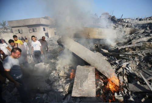 Israel Carried Out 80 Airstrikes In Gaza After Hamas Rocket Barrage