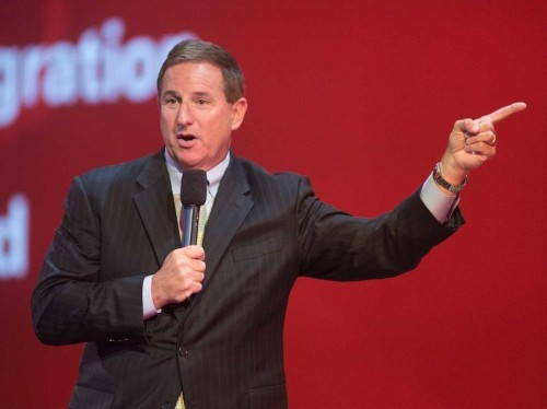 Oracle CEO Mark Hurd throws shade at SAP's $8 billion Qualtrics acquisition: We don't buy companies 'to just buy them'
