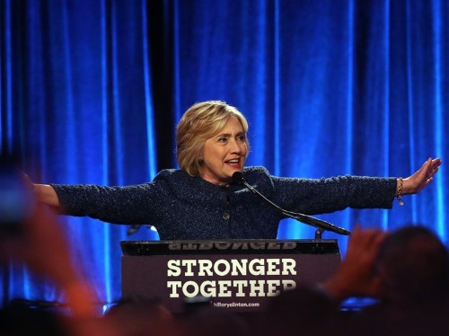 Hillary Clinton pegs half of Donald Trump's supporters as a 'basket of deplorables'