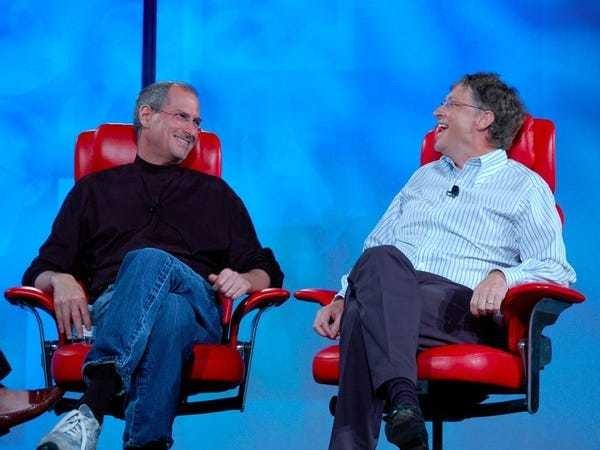 The strange love-hate relationship between Bill Gates and Steve Jobs - Business Insider