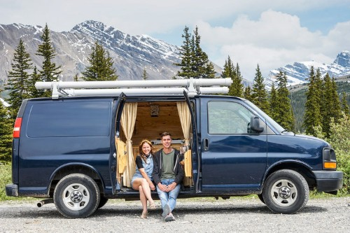 I left my job to live, work, and travel in a van — here's how I live