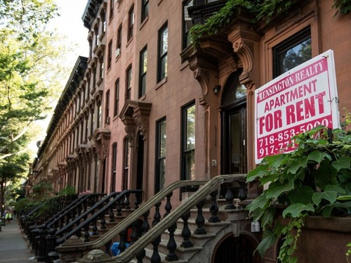 Rents are collapsing in some of America's biggest cities