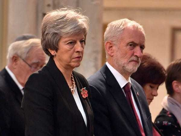 Theresa May has said working with Labour is the only way to deliver Brexit - Business Insider