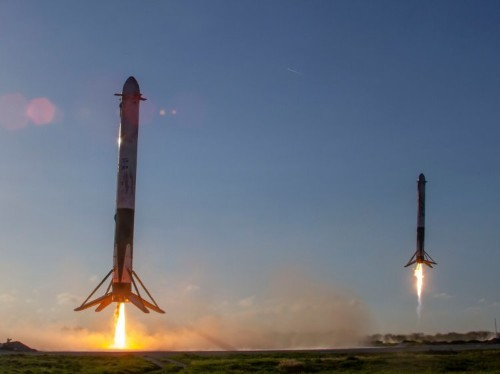 A SpaceX rocket survived space but was torn apart by high seas