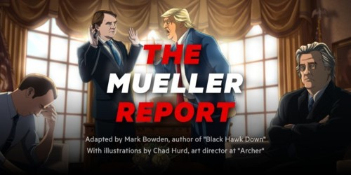 7 scenes from the Mueller report you need to see, drawn by an illustrator from 'Archer'