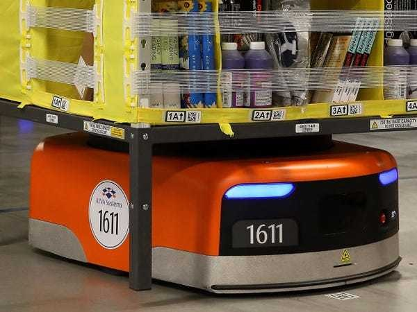 Amazon doubled the number of Kiva robots - Business Insider