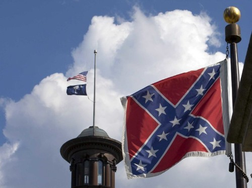 There are 5 states that have Confederate imagery in their flags