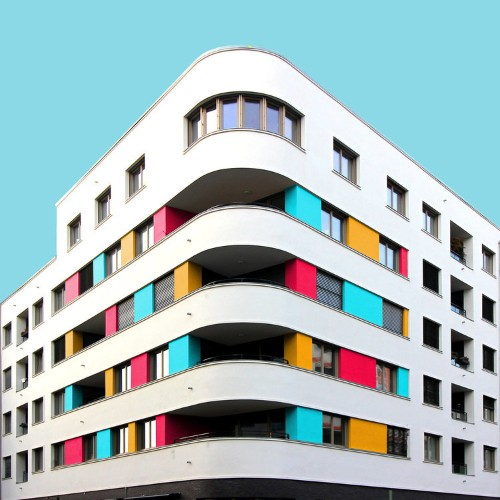 This photographer turns big cities into psychedelic worlds using Photoshop