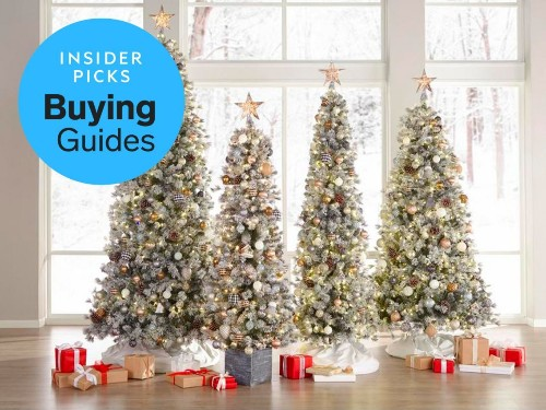 The best pre-lit artificial Christmas trees you can buy - Business Insider
