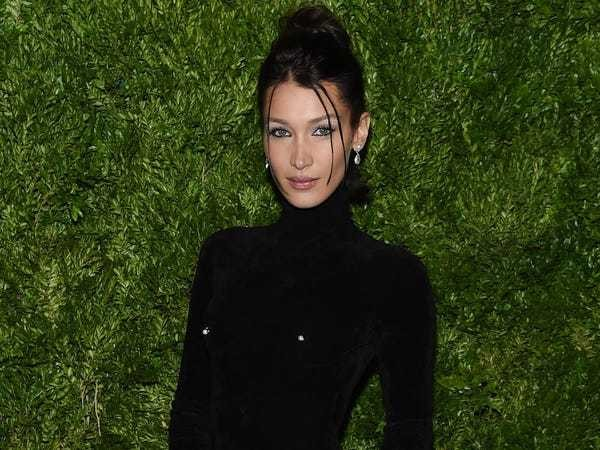 Bella Hadid wears bodysuit with piercings sticking out - Business Insider