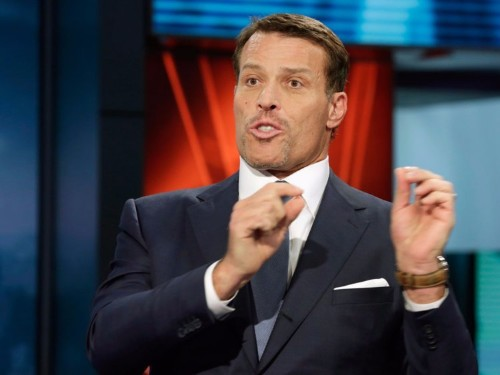 Tony Robbins explains how to suffer less and improve your well-being
