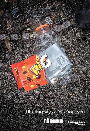 Toronto's New Campaign Insults People To Get Them To Stop Littering
