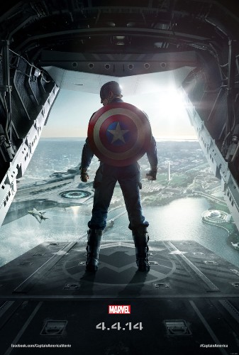 Captain America Is Ready To Jump Out Of A Plane In New 'Winter Soldier' Poster
