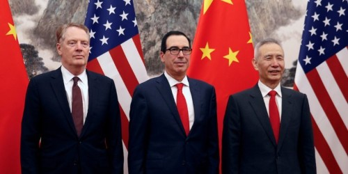 Stocks close mixed as the US and China resume deputy-level trade talks