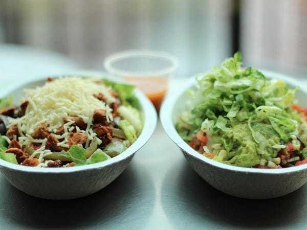 Chipotle has unseated Subway as America's healthy fast food of choice - Business Insider