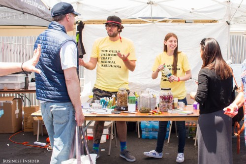 We went to San Francisco's first pot 'baked sale' and we're convinced that edibles are the next multimillion-dollar industry
