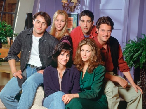 Courtney Cox posts Instagram photo of 'Friends' cast on jet to Vegas before show aired
