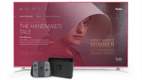 Nintendo Switch is finally getting video streaming services, and Hulu is first