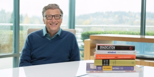 Bill Gates reveals his 6 favorite books of 2015