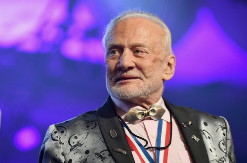 Buzz Aldrin retells the defining moments of the Apollo 11 moon landing