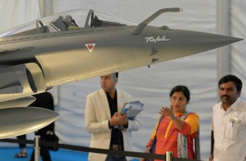 France in new bid to nail fighter jet deal with India