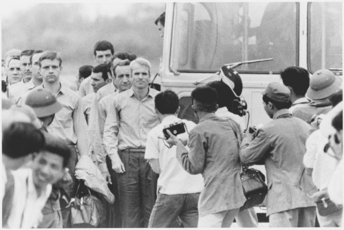 John McCain describes what it was like to be a war prisoner in Vietnam